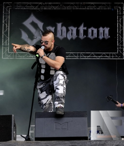 Sabaton Norway Rock Festival 2010 v2