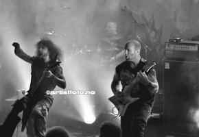Fra venstre: Ivan «Meathook» Gujic, Freddy Bolsø og Daniel Olaisen