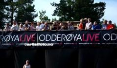 Odderøya Live, 12. juli 2014. Foto: Svein Erik Nomeland