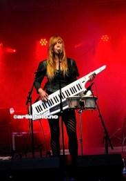 Mai Elise Solberg spilte for det meste tangenter i Bare Egil Band, eller blir det Ikke Bare Egil Band?