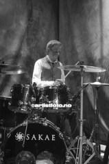 Geir Johansen på trommer