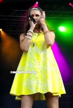 Vokalist Silje Hope