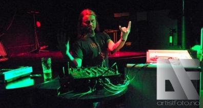 DJ Grutle fra Enslaved testet popanlegget på fredagen