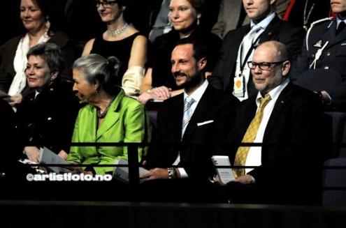 Kronprins Håkon kom også