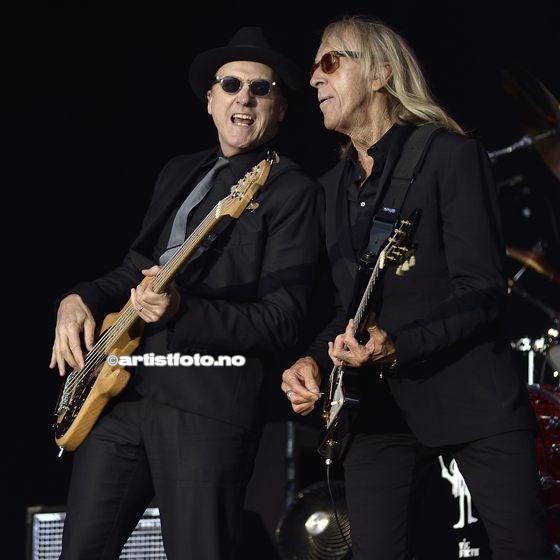 Matt Bissonette og Davey Johnstone er gamle legender i bandet til Elton John!