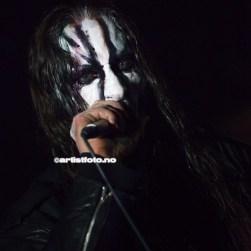 Gaahl skapte både skrekk og mystikk under konserten på Kick
