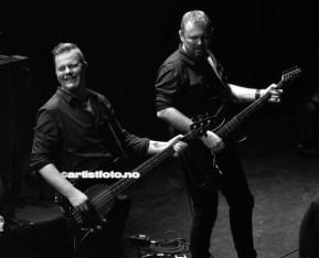 Fra venstre: Stein Roger Sordal og Bjørn Harstad