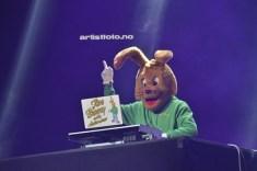 Jive Bunny var først ut med sitt DJ show