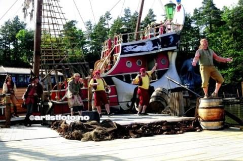 Misfornøyde og sinna pirater