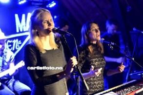 Fra venstre: Charlotte Qvale og Marte Wulff