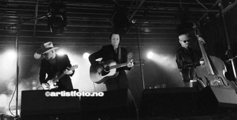 Fra venstre: Al DeLoner, Paal Flaata og Ron Olsen