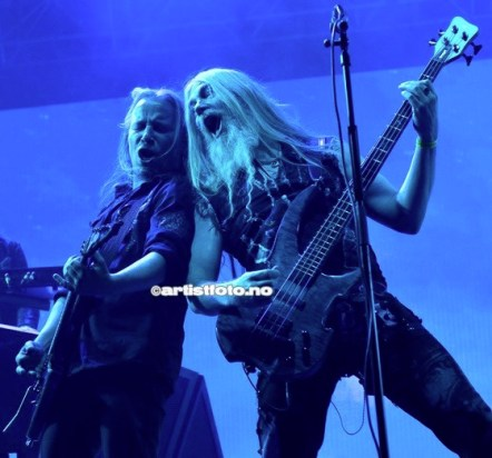 Fra venstre: Emppu Vuorinen og Marco Hietala