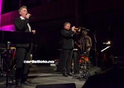 En fantastisk kombinasjon med Even Lohne og Ole Edvard Antonsen på trompet. Publikum fikk frysninger lang nedover ryggen!