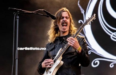 Opeth, Foto: Millie Steinsdóttir Leirvik