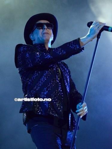 Vokalist Neil Tennant i elektro dance bandet Pet Shop Boys