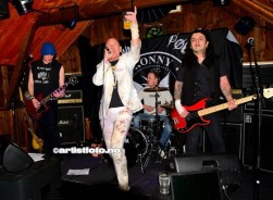 Fra venstre: Chris Damien Døkk, Ronny Pøbel, Citrus Minus, Dan Thunderbird
