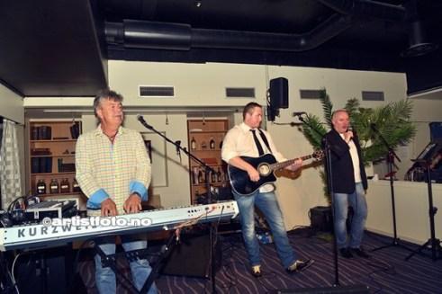 Fra venstre: Steinar Storm Kristiansen, Eirik Johansens og Terje Mårstad