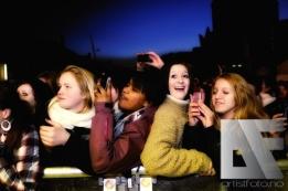 Mange unge jenter hadde funnet veien til konserten med A1 og Sirius