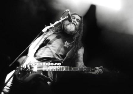 Legendariske Tom Araya, vokalist og bassist i Slayer
