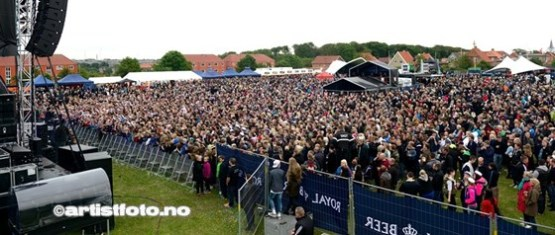 Det var 11 000 besøkende i løpet av to dager. Det ble solgt hele 33 000 liter øl, og 30 000 shots rør.