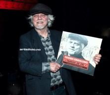 """Trond Granlund poserte med sin siste LP, """"Tanken er fri"""""""