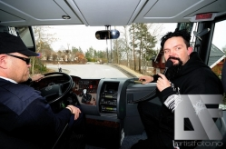 Oslolosen Anders Odden på vei til Holmekollen Kapell