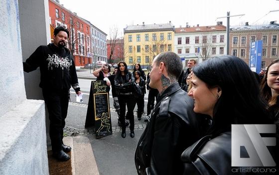 True Norwegian Black Metal Sightseeing Tour