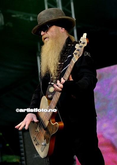 ZZ Top på Notodden Bluesfestival 2012. Foto: Svein Erik Nomeland