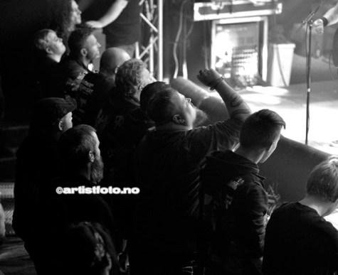 Communic På Southern Discomfort 2018. Foto: Svein Erik Nomeland