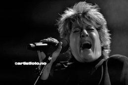 Katrina and_the Waves på Banken Arena i Kvinesdal, Foto: Svein Erik Nomeland