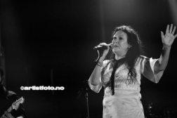 Kira J på Banken Arena i Kvinesdal, Foto: Svein Erik Nomeland