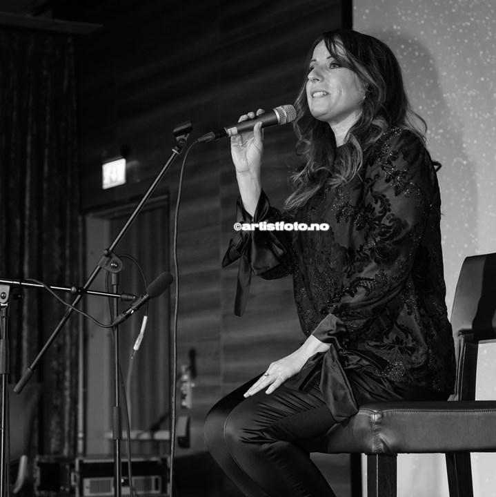 Astrid Tveitan på Protestfestivalen 2020 , Kristiansand. Foto: Svein Erik Nomeland