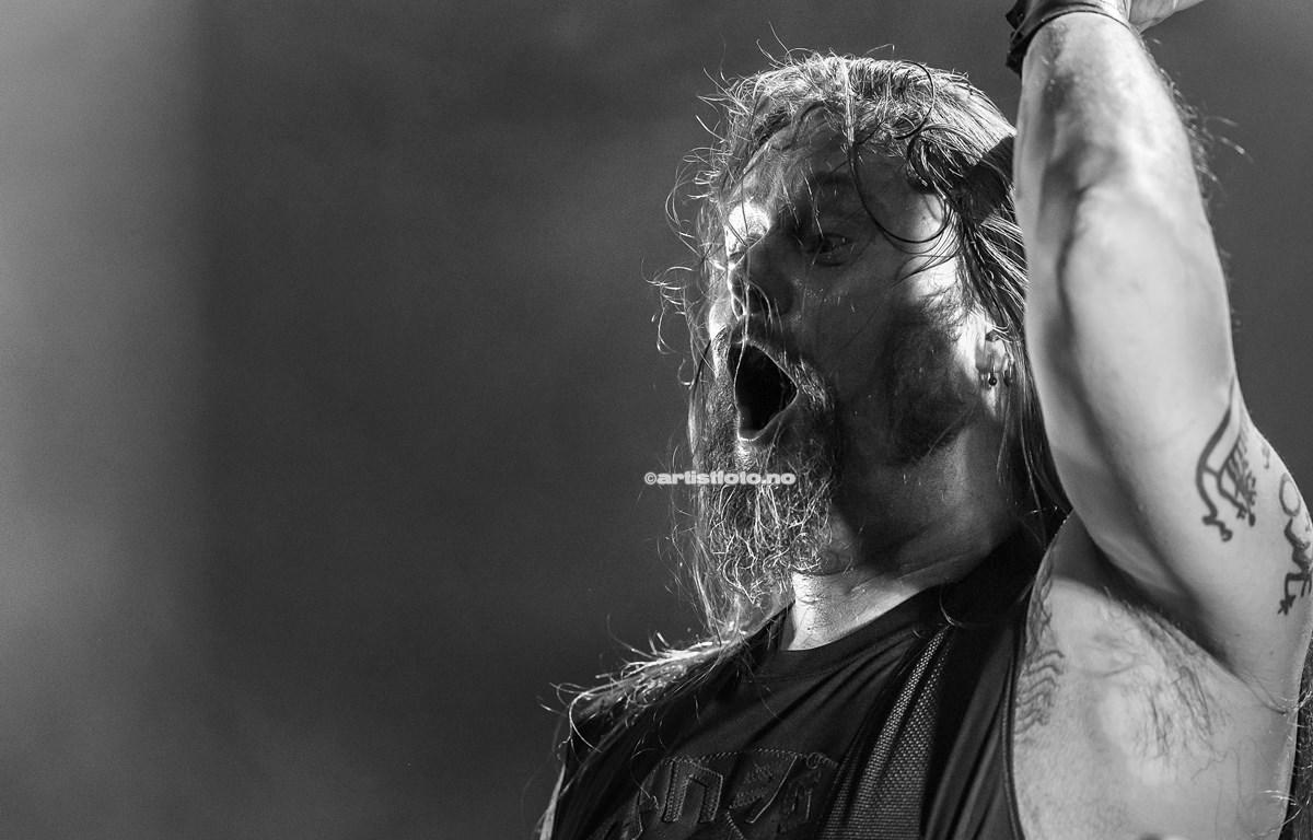 Enslaved /Grutle på Buen. Foto: Svein Erik Nomeland