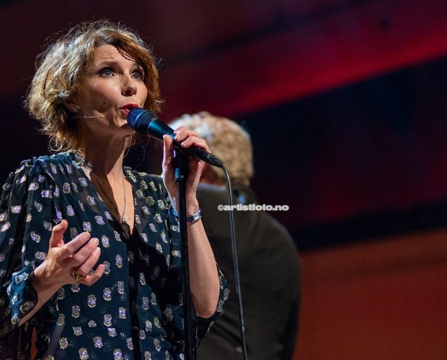Herborg Kråkevik konsert i Kilden. (header)Foto: Svein Erik Nomeland