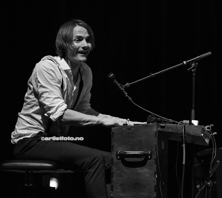 Magnus Børmark, Gåte, i Kilden. Foto: Svein Erik Nomeland