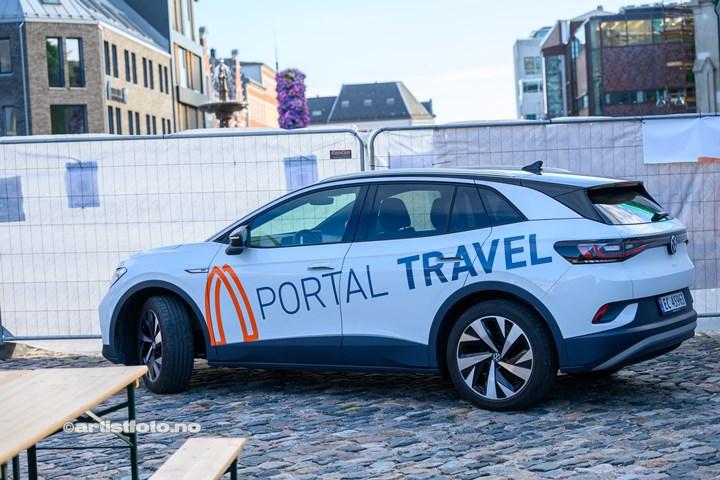 Portal Travel stod for festaften på Øvre Torv i Kristiansand
