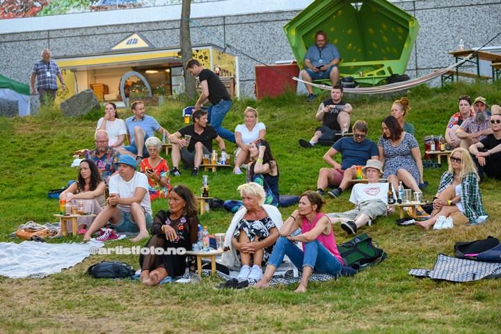 Fay Wildhagen på Bendiks i Kristiansand. Foto: Svein Erik Nomeland