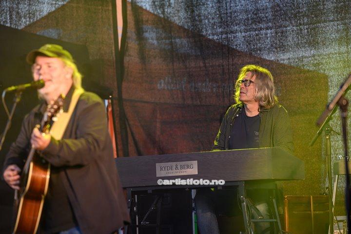 Henning Kvitnes på Skalldyrfestivalen i Mandal. Foto: Marie Launes