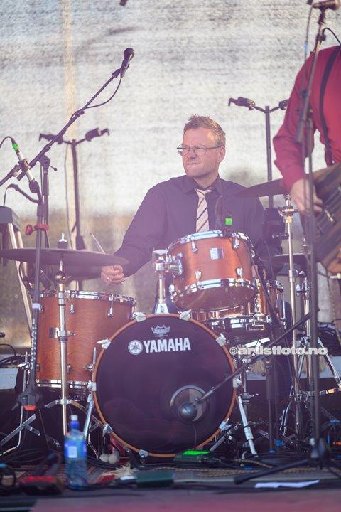 Murky Tide på Skalldyrfestivalen i Mandal. Foto: Marie Launes