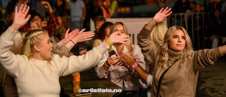 Plumbo på Skalldyrfestivalen i Mandal. Foto: Marie Launes