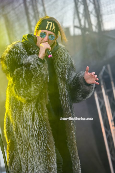 TIX på Skalldyrfestivalen i Mandal. Foto: Marie Launes